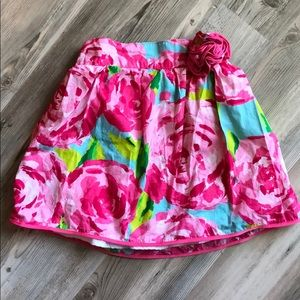 Lilly Pulitzer Hottie Pink First Impressions Skirt